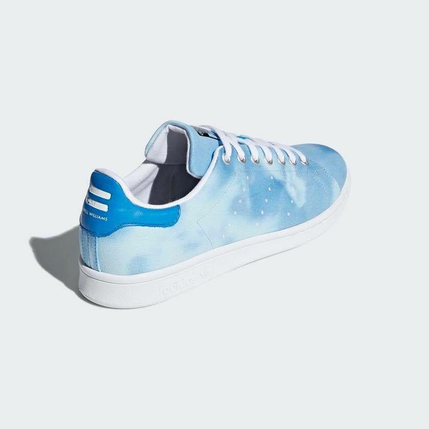b60d33e50  Adidas Stan Smith x Pharrell Williams HU Holi - Blue  AC7045