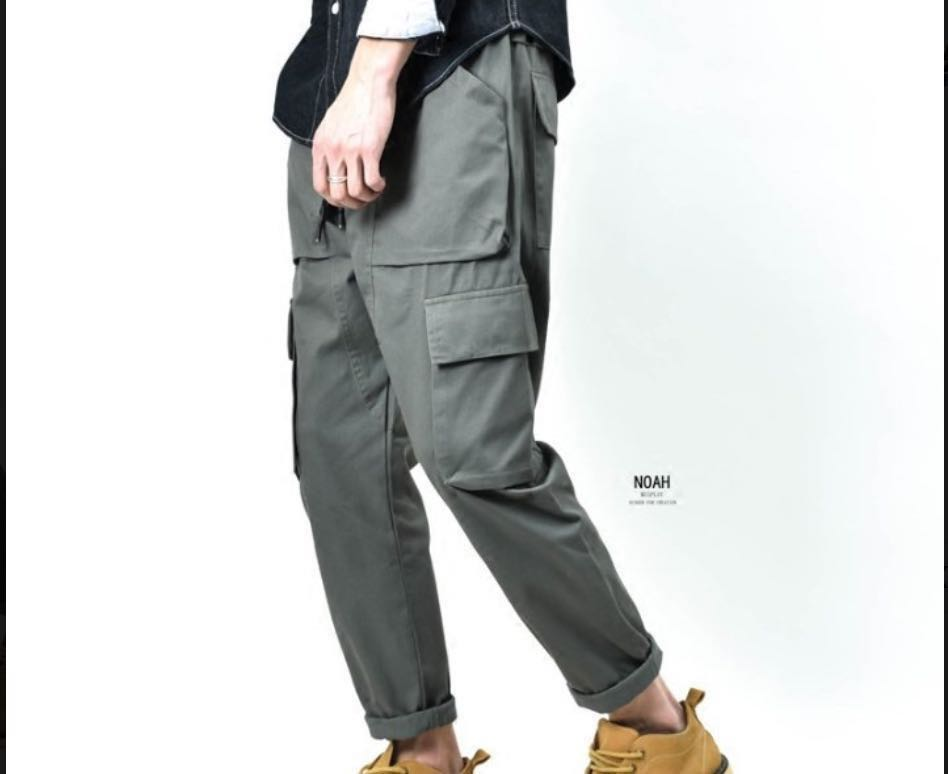 Army green Tooling pants