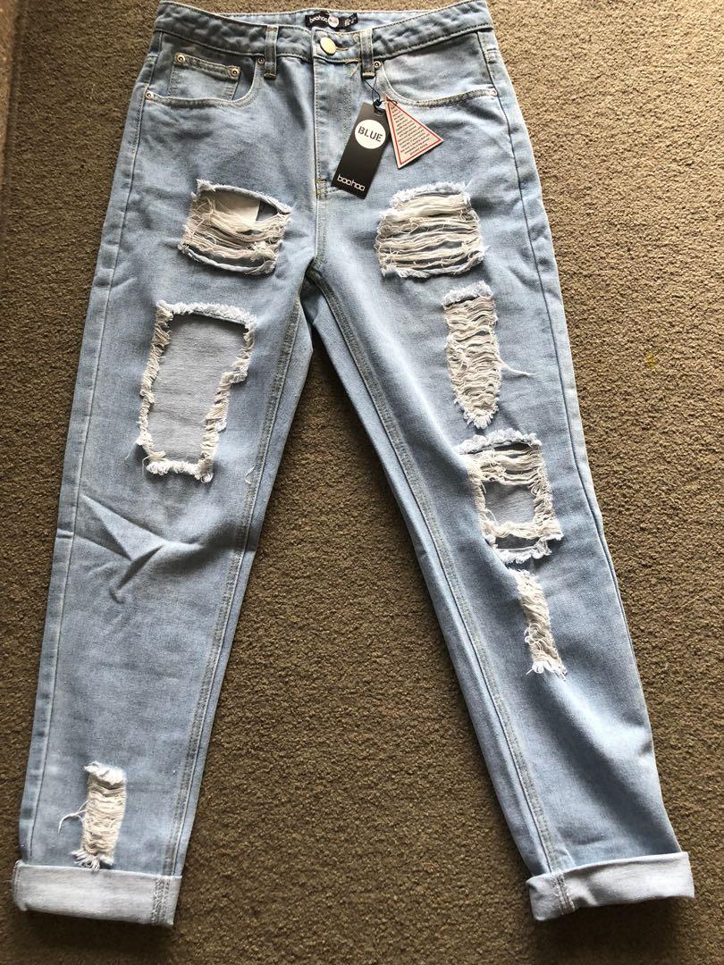 Boohoo highwaisted jeans
