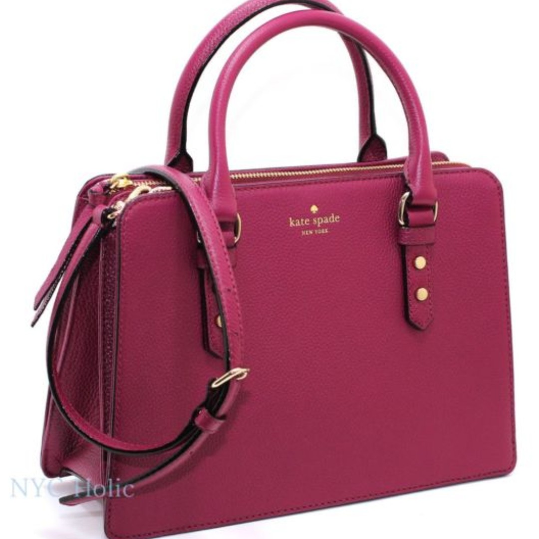 cc0af689ab BRAND NEW KATE SPADE NEW YORK LISE MULBERRY STREET LEATHER SATCHEL ...