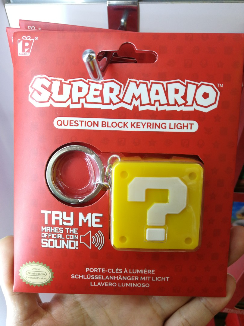 Brand New) Official Licensed Super Mario Question Block
