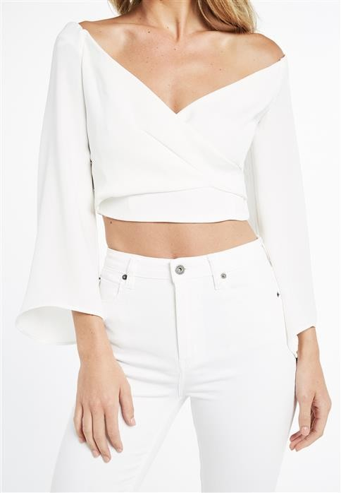 Brand new with tags bardot wrap top