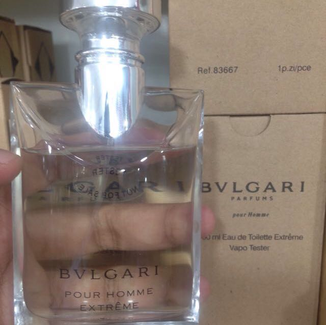 Bvlgari Pour Homme Extreme Tester Health Beauty Perfumes Nail