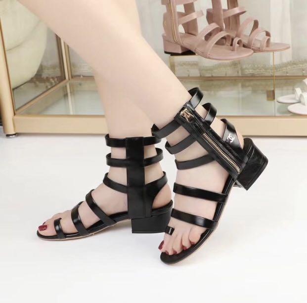 433aa9f4f8c Chanel gladiators sandals