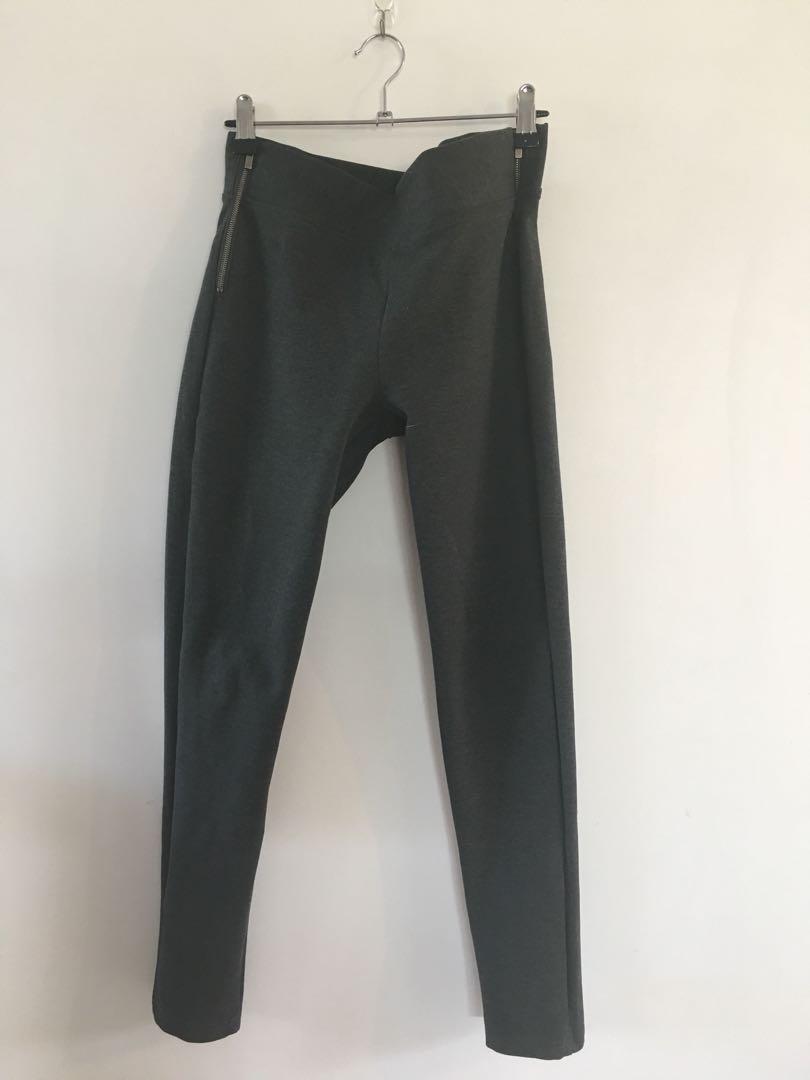 Charcoal grey pointe pants 👖