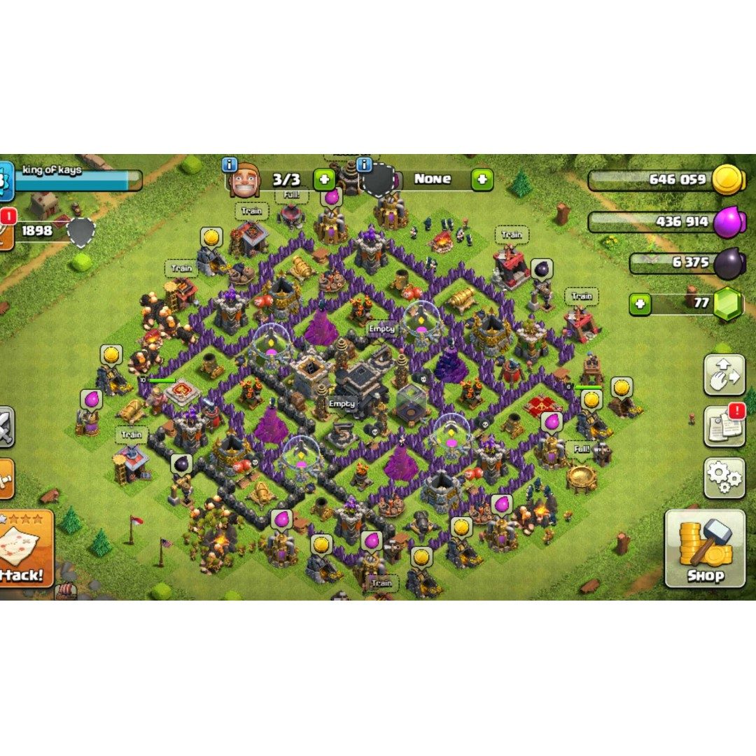 coc clans for sale