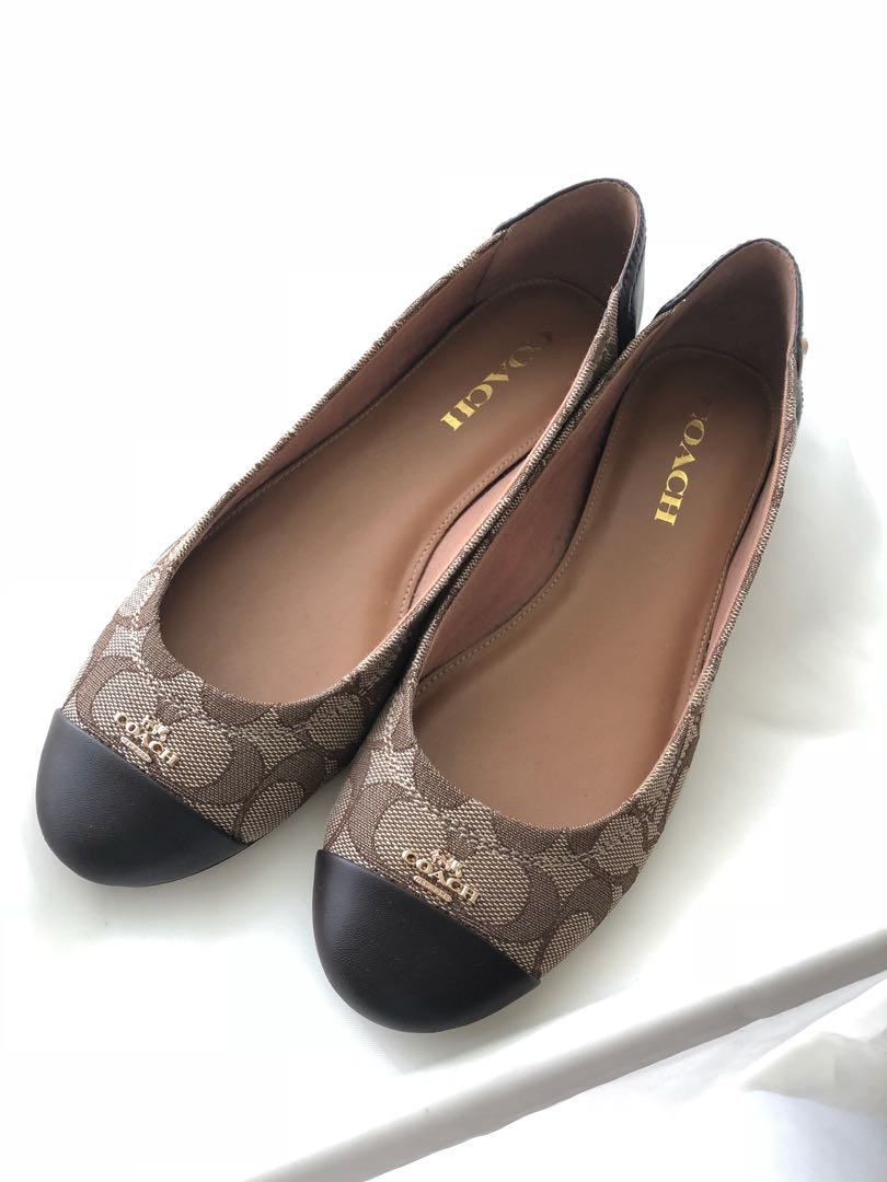 651ead0f6ddc coupon code for coach chelsea signature ballet flats 5568a 36d95  norway coach  chelsea flat shoes authentic fesyen wanita sepatu di carousell 0b344 736c4