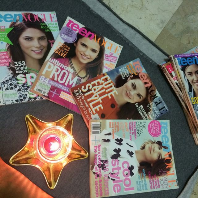 Curated Teen Vogue Magazines (2008-2011)