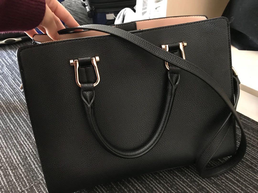 H&M one shoulder leather bag