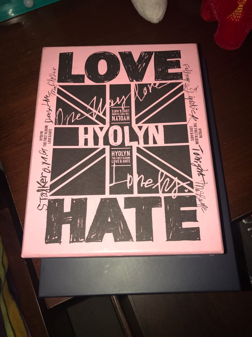 Hyolyn Love and Hate