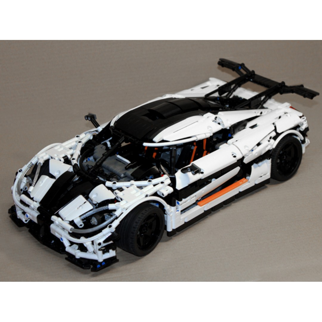 Ready Koenigsegg One 1 Moc 4789 By Paulvandebulk Lego