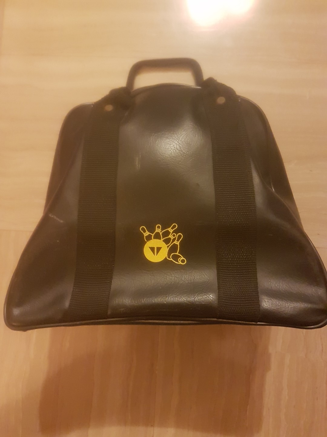 Leather Bowling Bag For 1 Ball