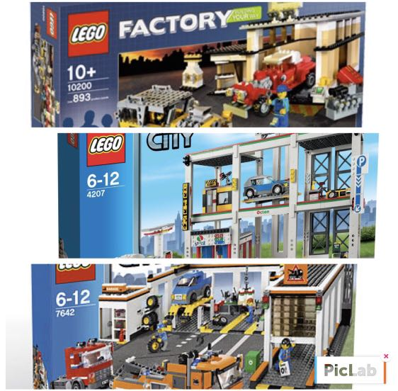 Lego City 10200 4207 7642 Toys Games Bricks Figurines On