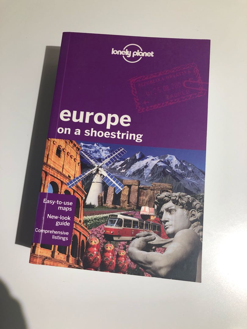 Lonely Planet Guide - Europe on a Shoestring