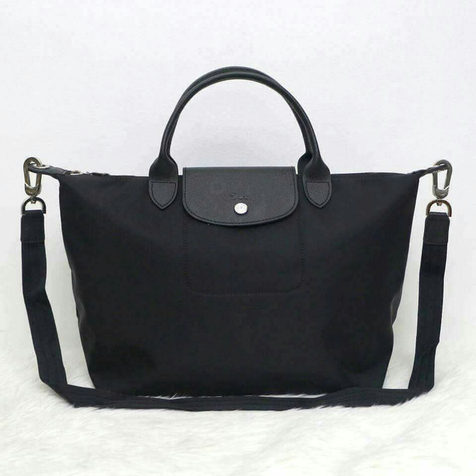9ff39ce5d3 Longchamp Neo (Black), Luxury, Bags & Wallets on Carousell