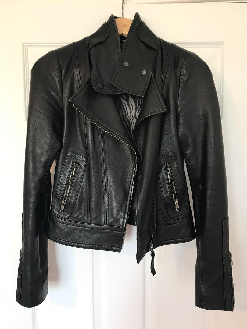 Mackage Leather Jacket Size XXS