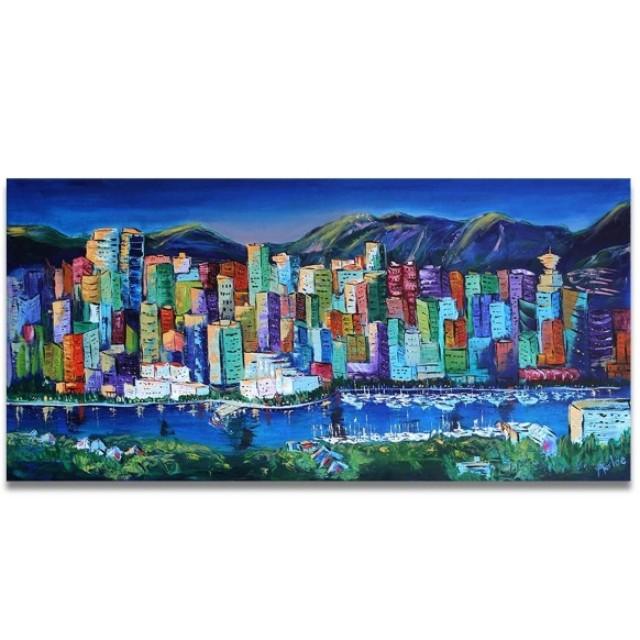 Marlee Walchuk Vancouver Handpainted Oil Painting