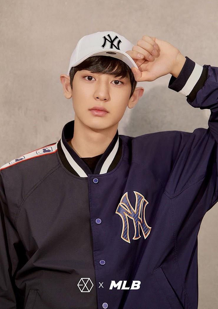 Reduced  MLB x EXO Chanyeol cap 73164d5ae44