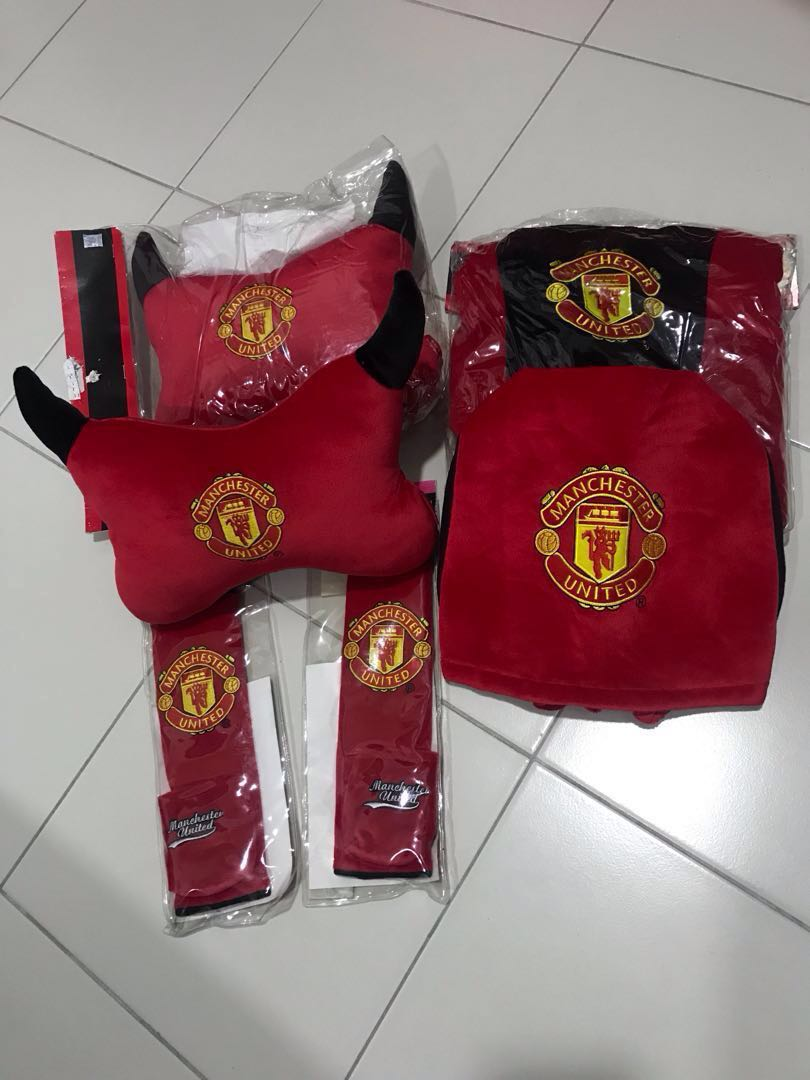 New Manchester United Car Seat Cover Set Auto Accessories On Carousell
