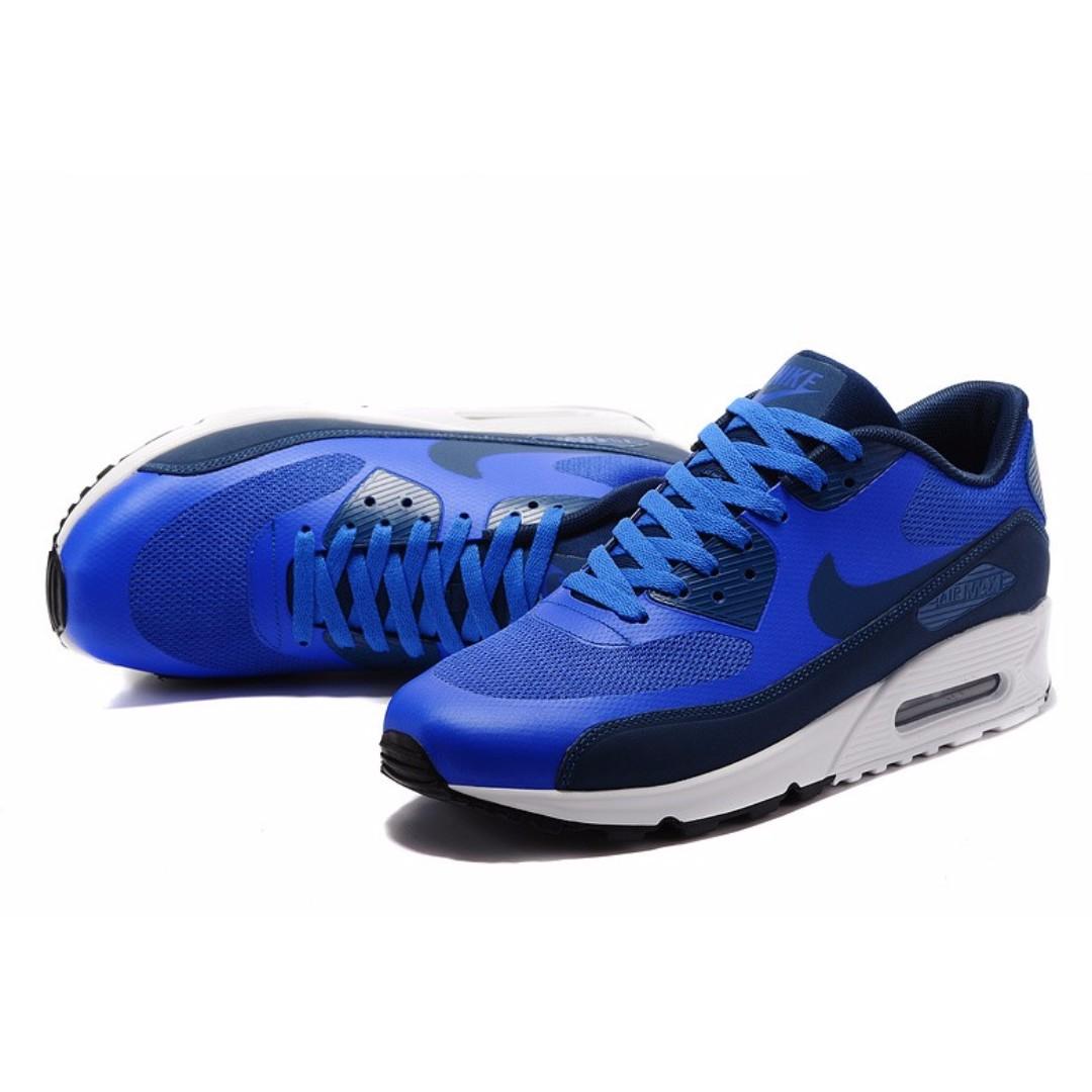 c2d0615b0e5c Nike Air Max 90 Ultra 2.0 Essential Blue Men s Shoes   SRP   6