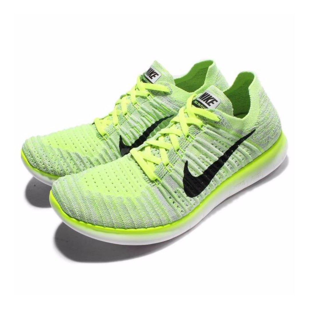 4100c97304d ... order nike free rn flyknit run yellow white mens running shoes srp  6945php mens fashion footwear