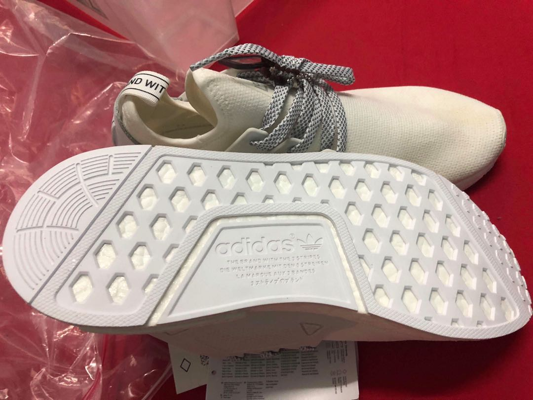 NMD XR1 Triple White ( 110% Authentic ) Legit Check all u want ... 8dd8ae37b9db