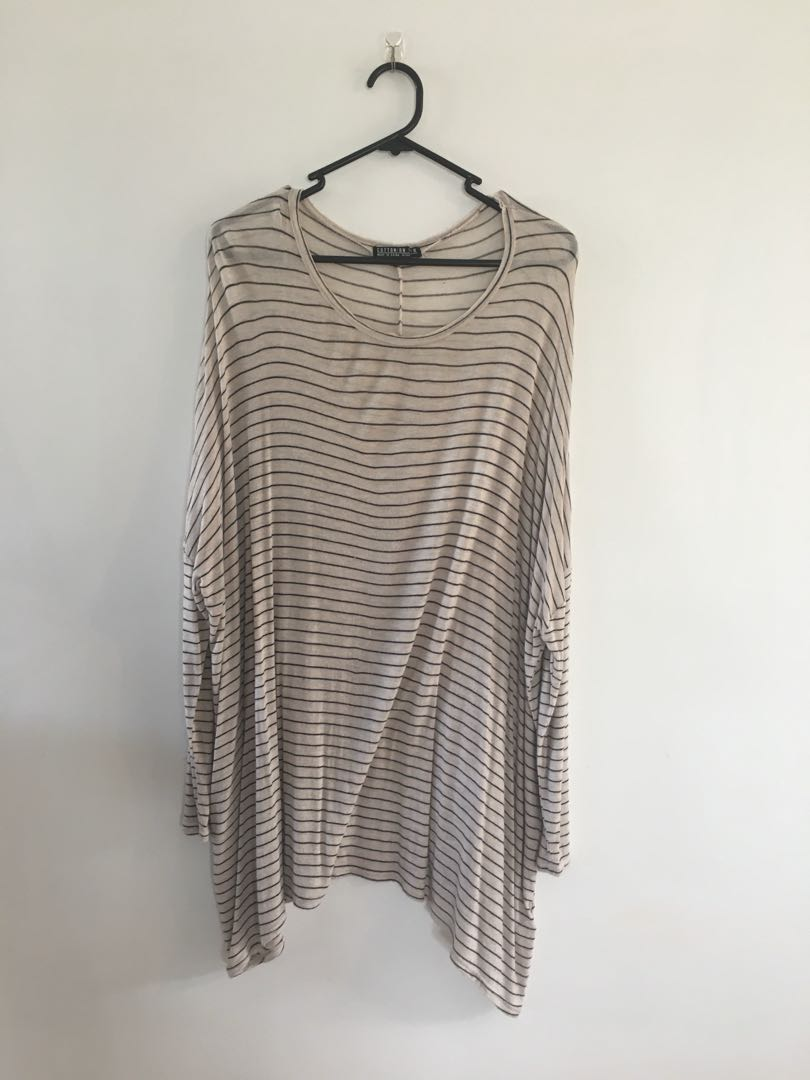 Oversized long sleeved top 👚