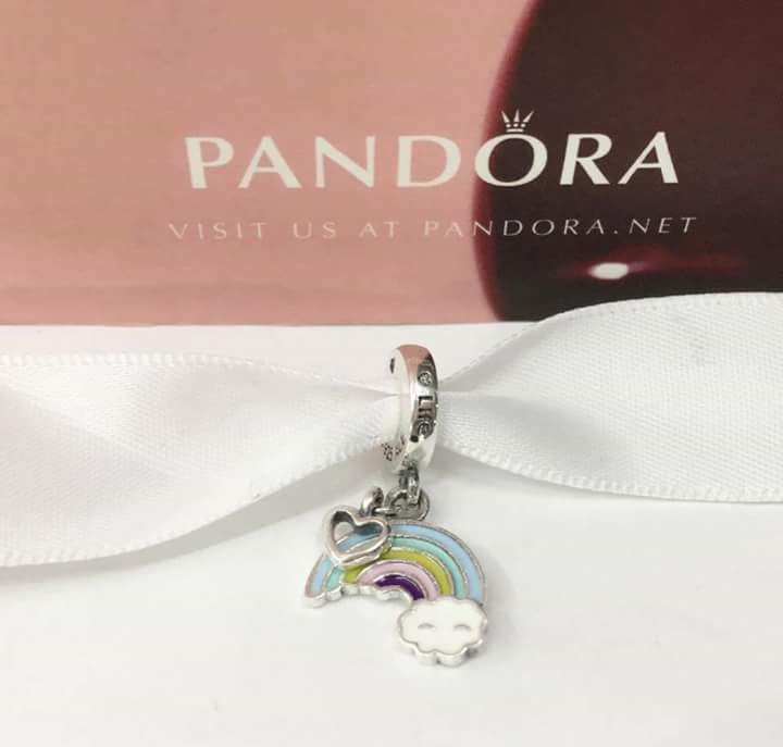 c7006bb42 ... new zealand pandora rainbow charms preloved womens fashion jewelry on  carousell a39f9 e2460 ...