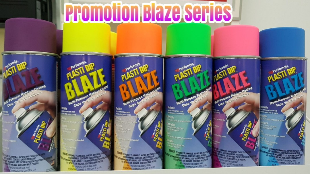 Plasti Dip Blaze Series Promotion Plastidip Car Accessories On
