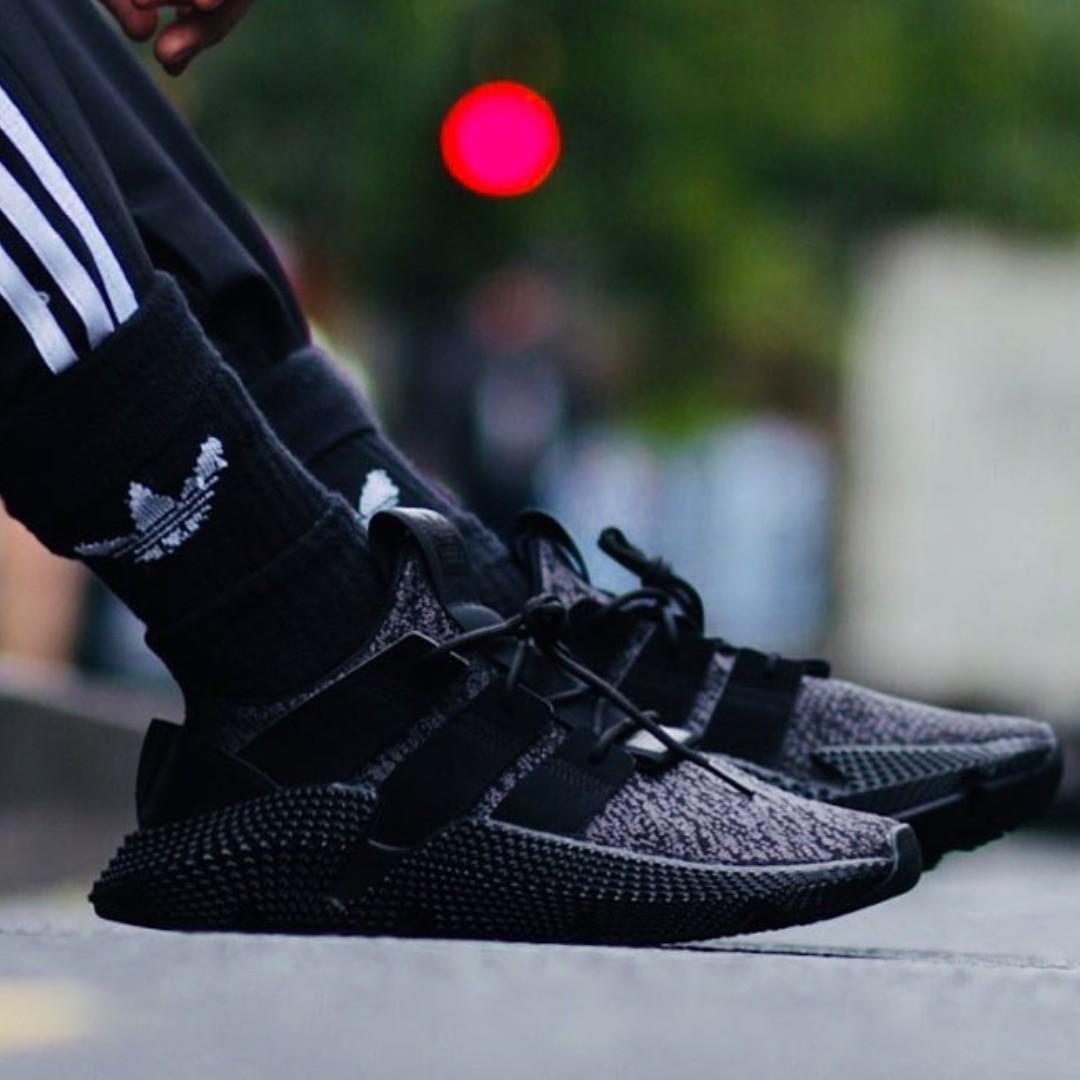 5978d6b3251b PO) Adidas Prophere Triple Black