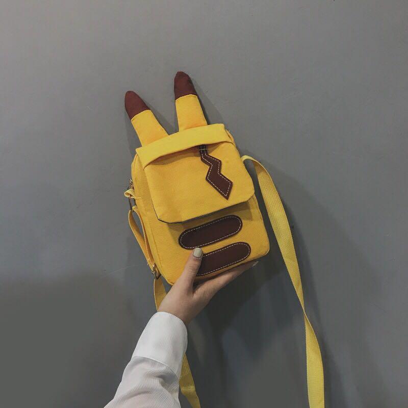 (PO) LIMITED* Mini Cute Pikachu Sling Hand Bag