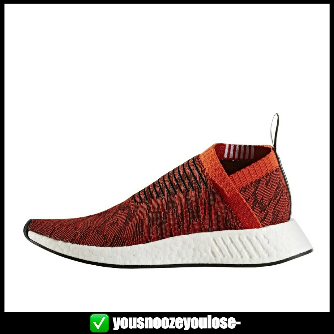PREORDER ADIDAS NMD CITYSOCK CS2 PRIMEKNIT PK HARVEST GLITCH RED,  Bulletin Board, Preorders on Carousell