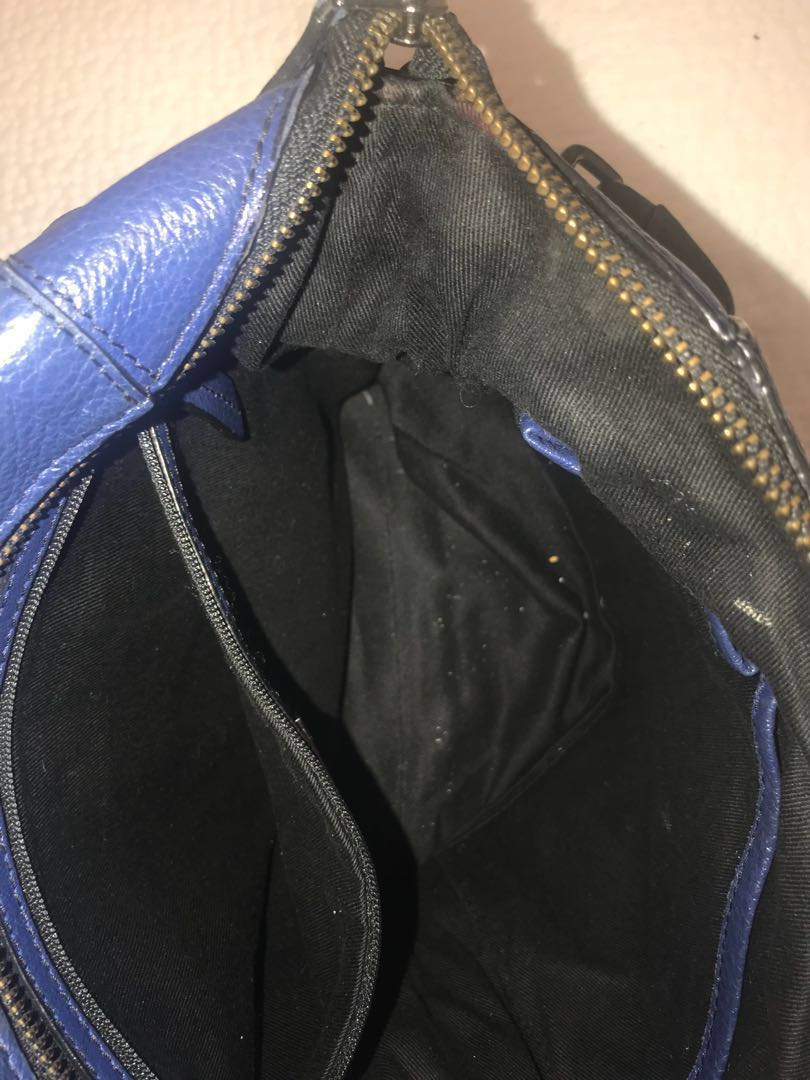 Saba blue handbag
