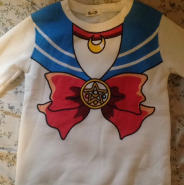 Sailor Moon Crewneck Sweater
