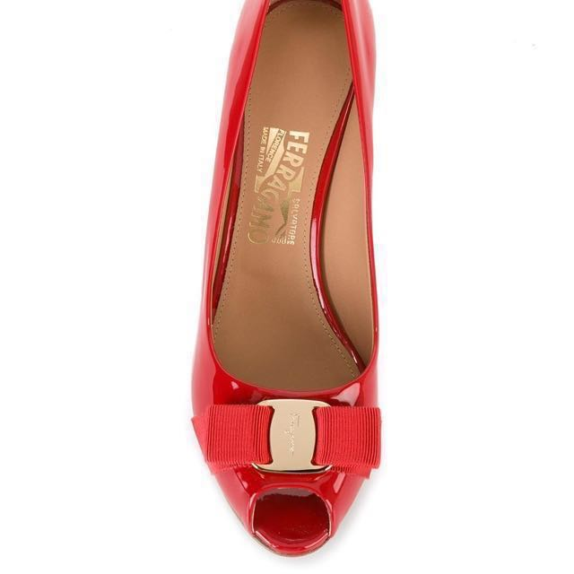 a0b083452c Salvatore Ferragamo Heels (Size 8) , Women's Fashion, Shoes on Carousell