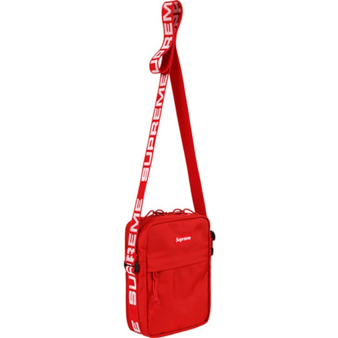 Supreme Shoulder Bag FW18 Red 337ac9bd37d97