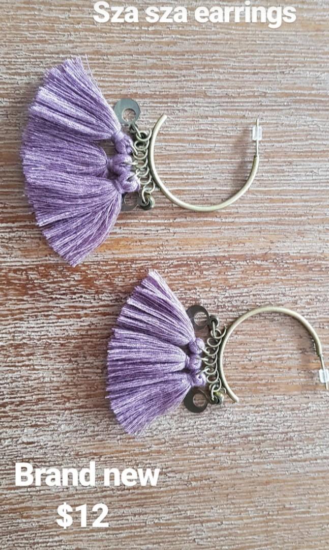 Sza sza earrings