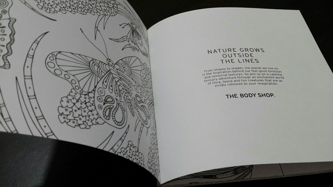 The Body Shop Colouring Book: The World is Our Source of Beauty ...