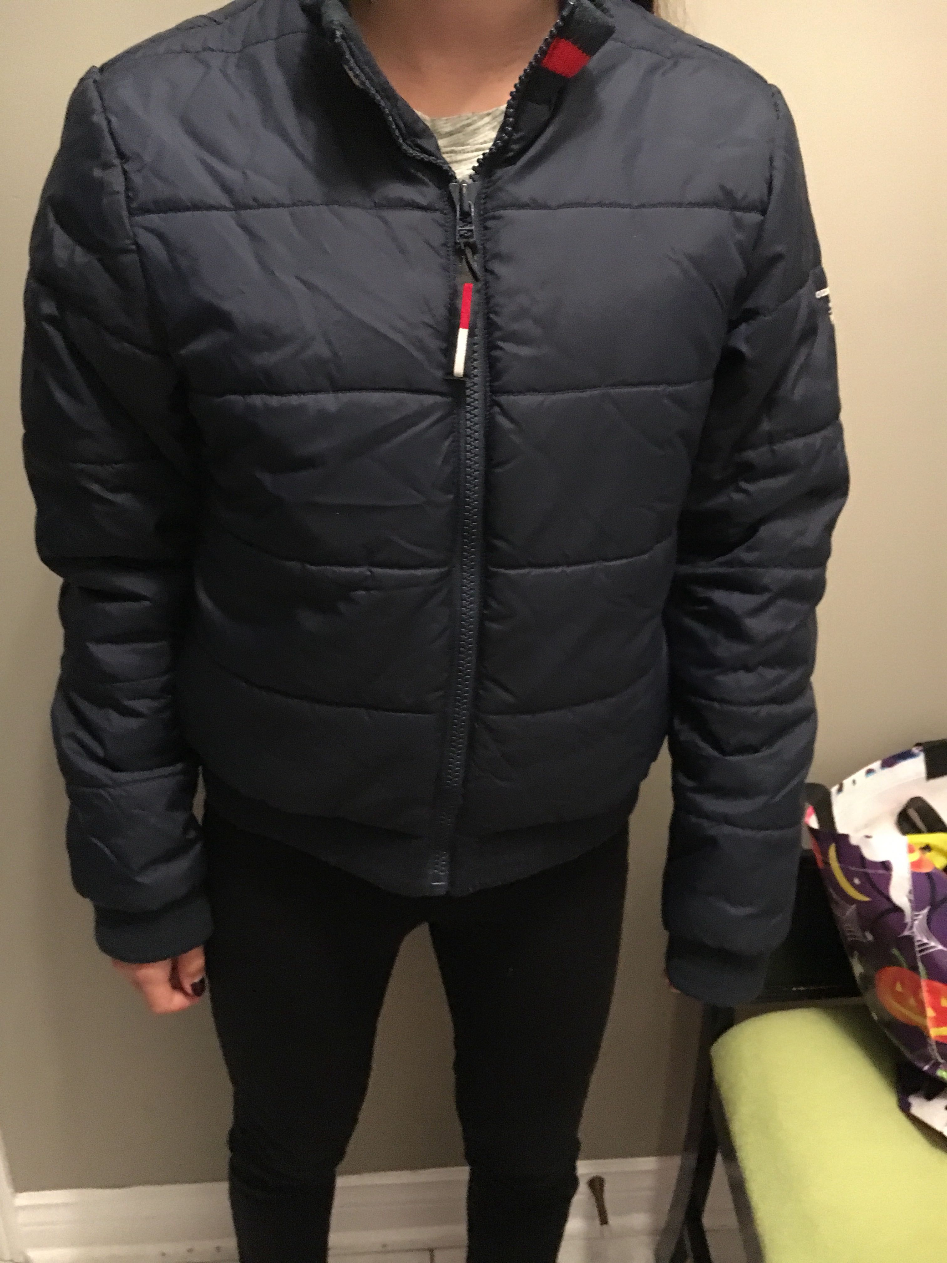 Tommy puffer jacket