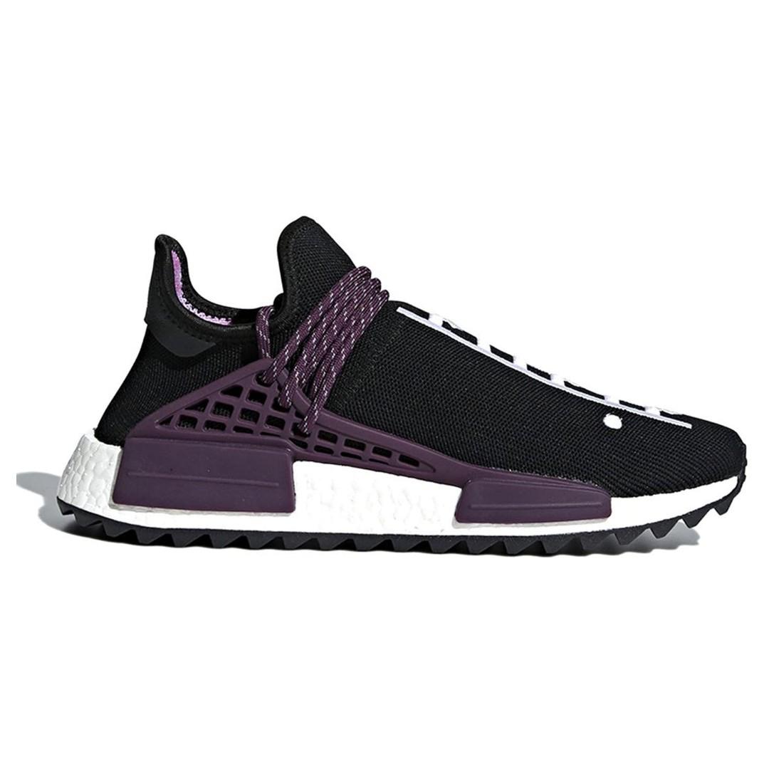 649699727d6b5 US 9 Adidas x Pharrell Williams NMD Hu Human Race Holi Pack Black ...