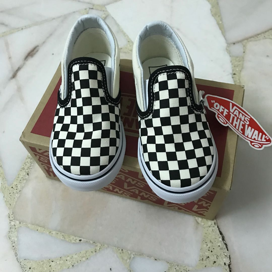 bdb73a46f1 Vans Checkerboard Slip On (toddler)
