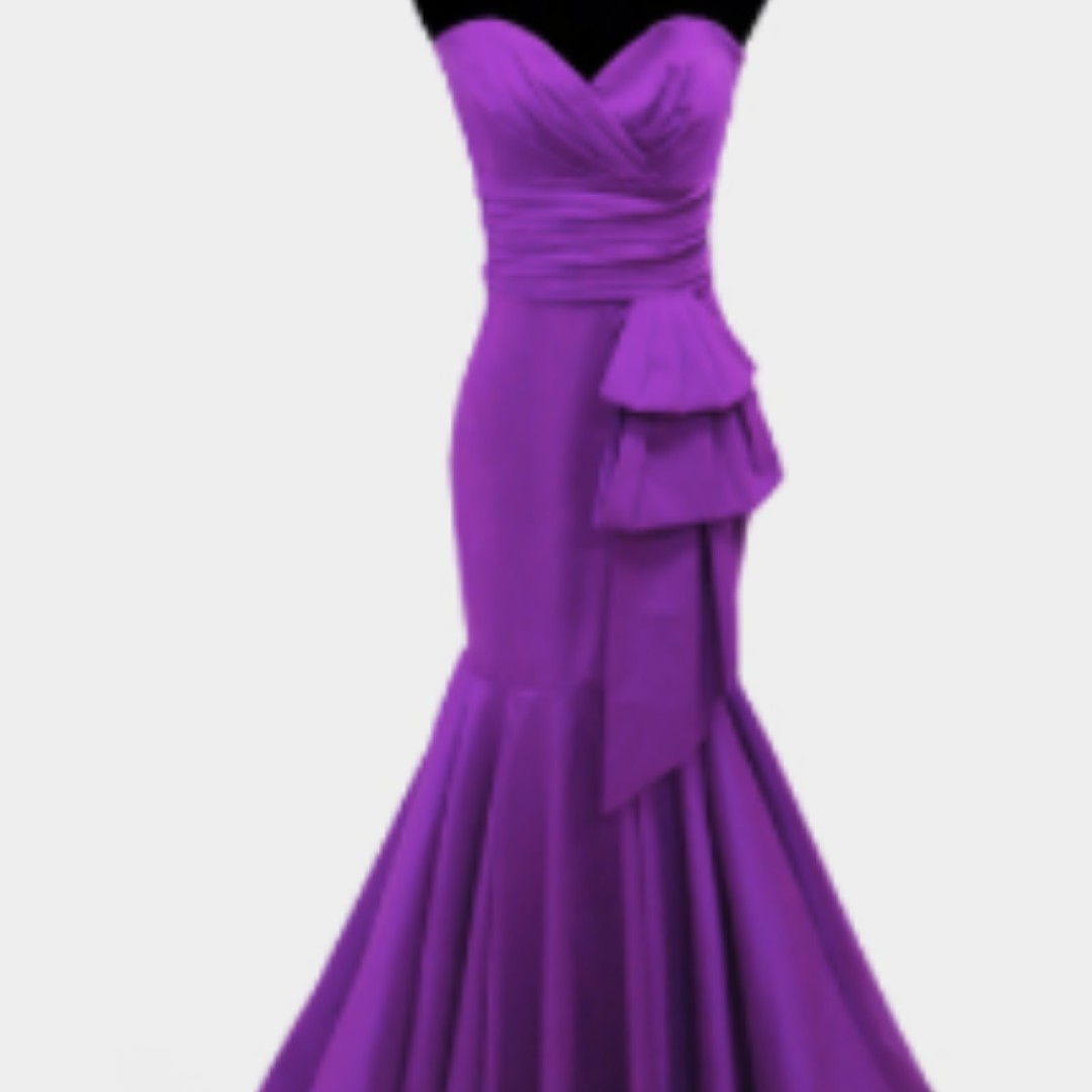 Violet Gown (Ophelia), Preloved Women\'s Fashion, Clothes on Carousell