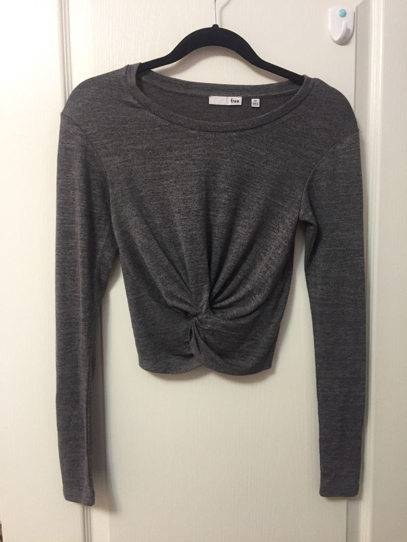 Wilfred cropped long sleeve