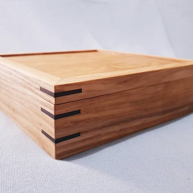 Wooden Keepsake Photo Box Furniture Others On Carousell
