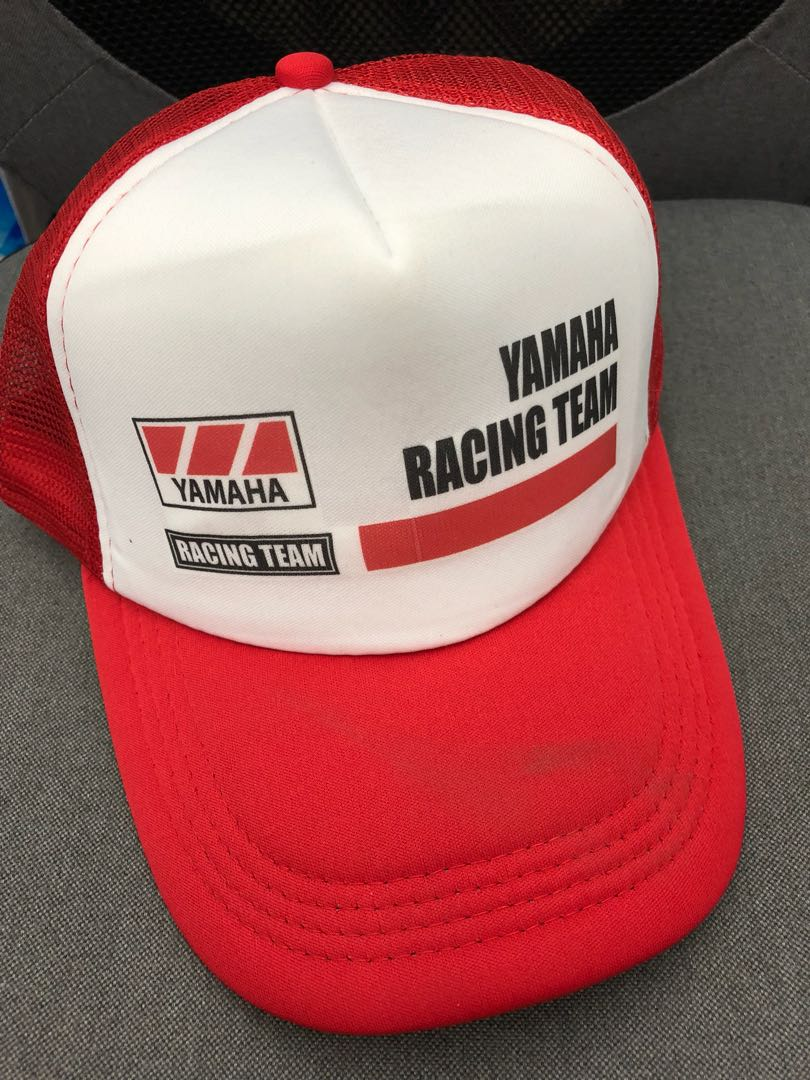 5bce6835 Yamaha Racing Team Trucker Cap, Men's Fashion, Accessories, Caps & Hats on  Carousell