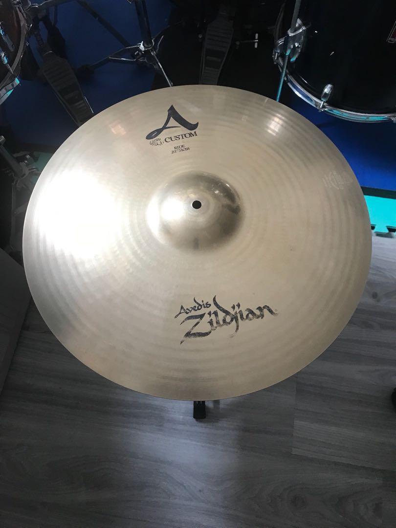"7ffdc558352c Zildjian A Custom Ride 20"" Cymbal"