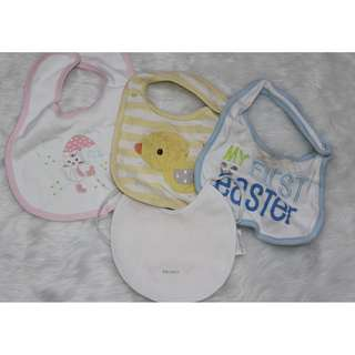 Take ALL 4 bibs for baby girls