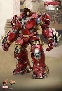 Hot Toys Avengers Age of Ultron Hulkbuster Hulk Figure Iron Man