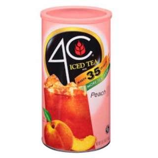 4C Iced Tea (Peach) 2.49kg