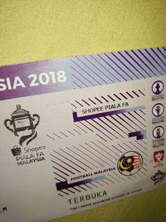 TIKET BOLA PIALA FA 2018 (SELANGOR vs KL)